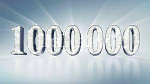 Miljoenste bezoeker
